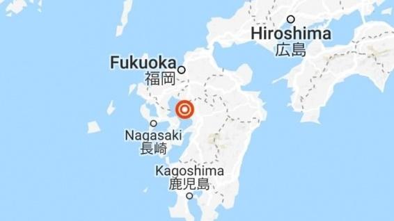ญี่ปุ่น เกาะคิวชู แผ่นดินไหว