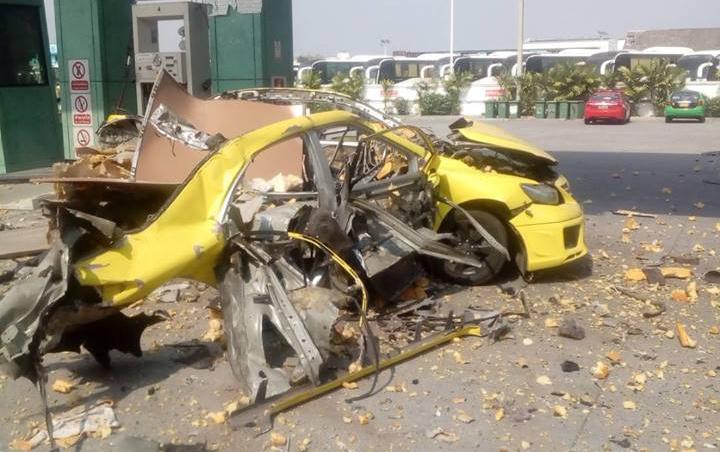 ข่าวระเบิด ข่าวสดวันนี้ แท็กซี่ระเบิด