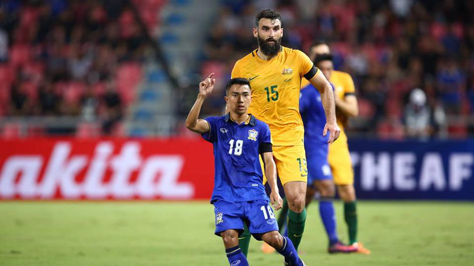 ชิงแชมป์อาเซียน ทีมชาติออสเตรเลีย ทีมชาติไทย เอเอฟเอฟ ซูซูกิ คัพ 2020