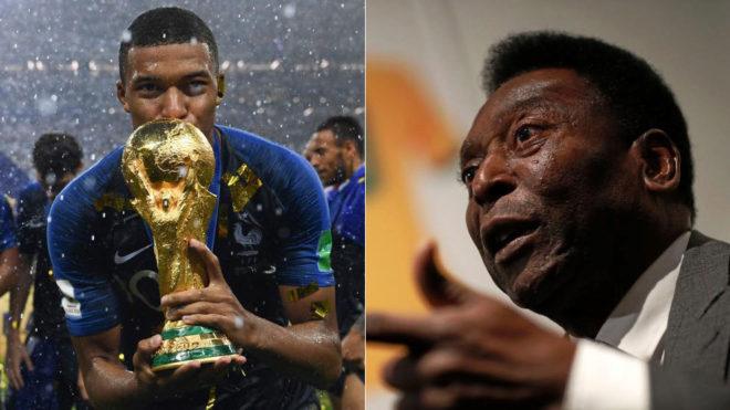 ฟุตบอลโลก เปเล่ แชมป์โลก ไคเลียน เอ็มบาปเป้