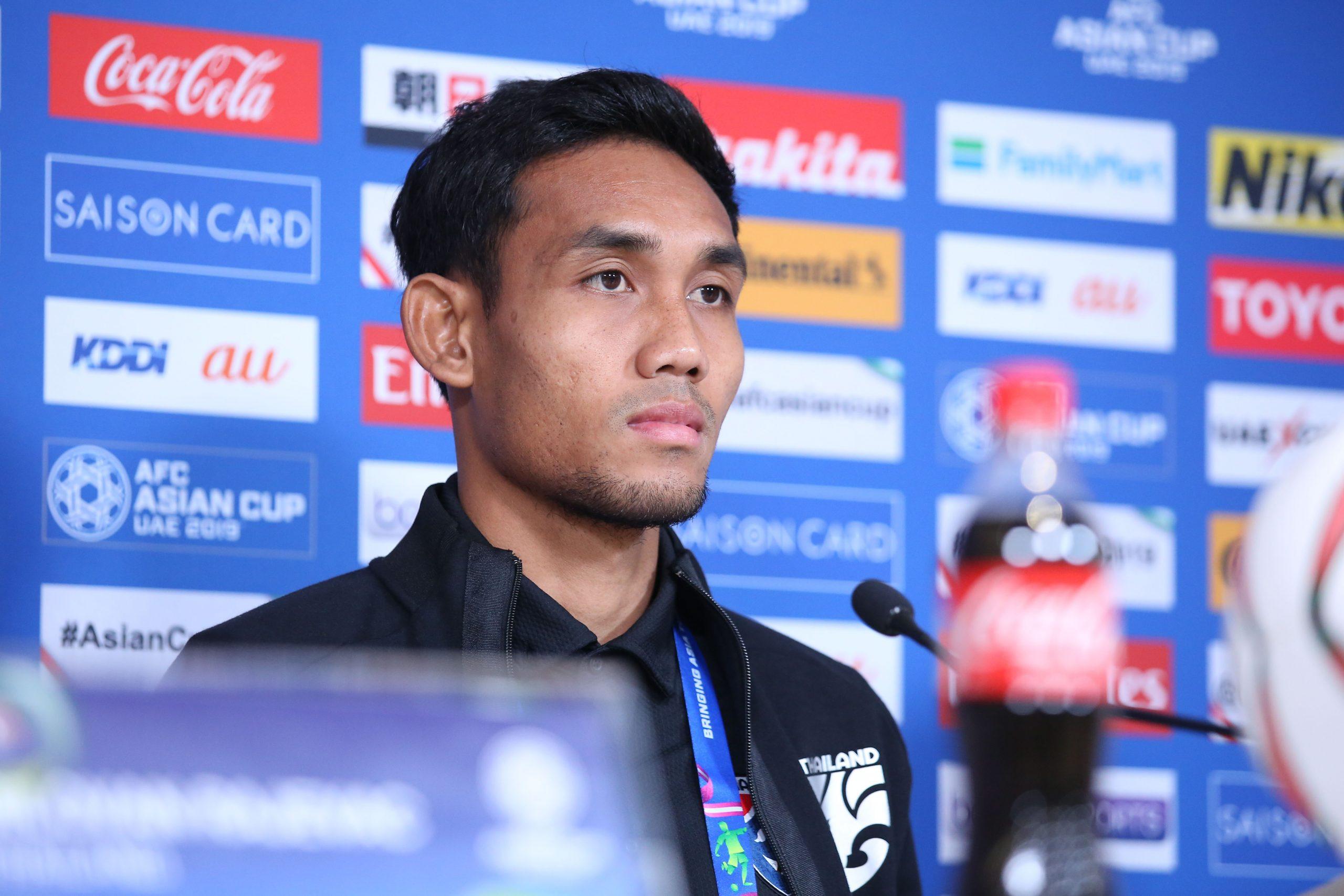 ทีมชาติอินเดีย ทีมชาติไทย ธีรศิลป์ แดงดา เอเชียนคัพ 2019