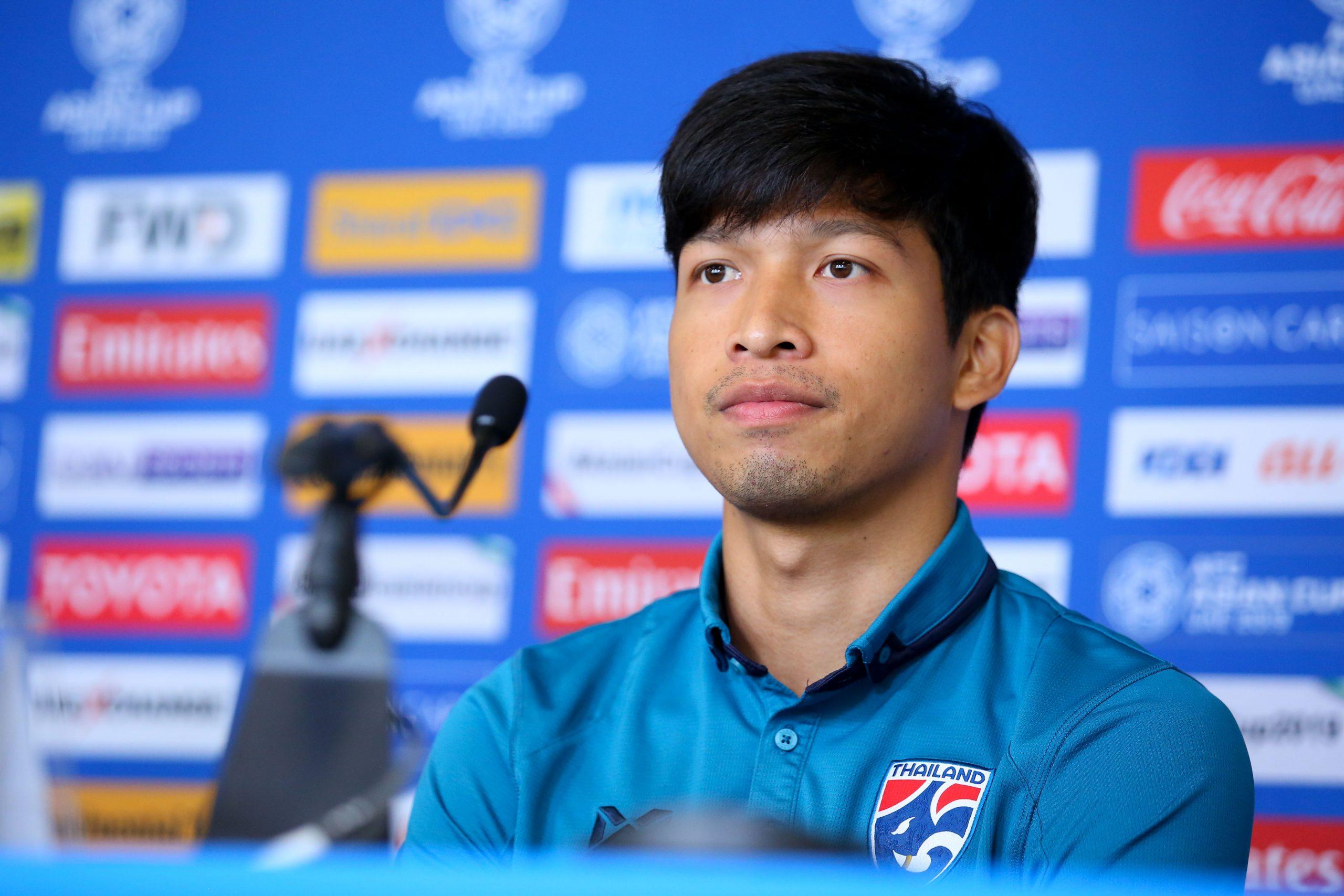 ทีมชาติจีน ทีมชาติไทย ธนบูรณ์ เกษารัตน์ เอเชียนคัพ 2019