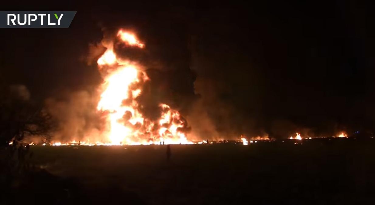 ข่าวระเบิด ข่าวสดวันนี้ ข่าวเม็กซิโก ท่อส่งน้ำมันระเบิด