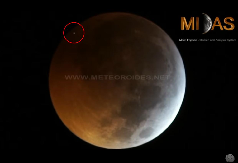 ข่าวสดวันนี้ จันทรุปราคา พระจันทร์สีเลือด อุกกาบาตชนดวงจันทร์