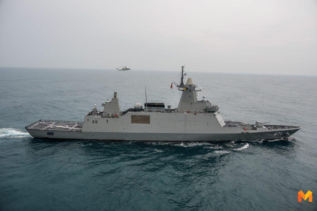 เรือหลวงจักรีนฤเบศร เรือหลวงภูมิพลอดุลยเดช