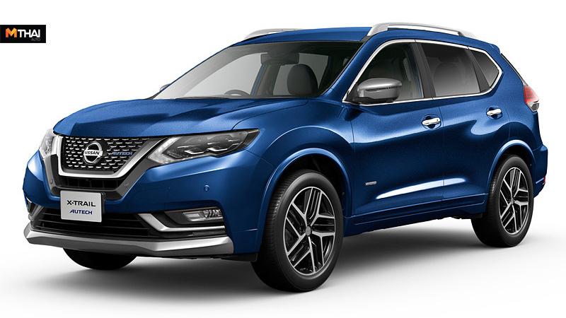 nissan Nissan X-Trail Nissan X-Trail AUTECH suv X-Trail AUTECH ข่าวรถยนต์ นิสสัน รถญี่ปุ่น รถเอสยูวี รถใหม่