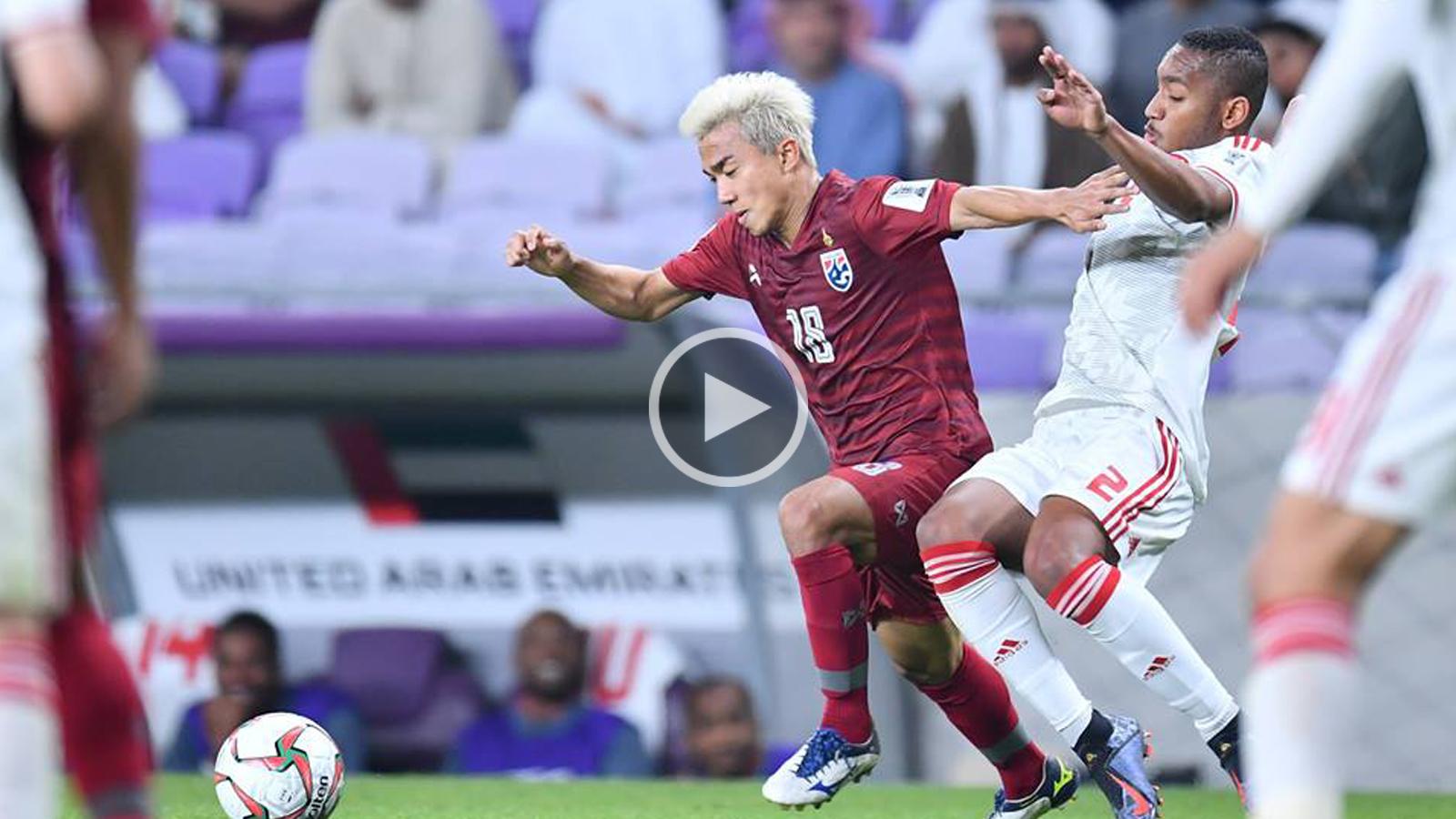 ชนาธิป สรงกระสินธ์ ทีมชาติไทย เอเชียนคัพ 2019