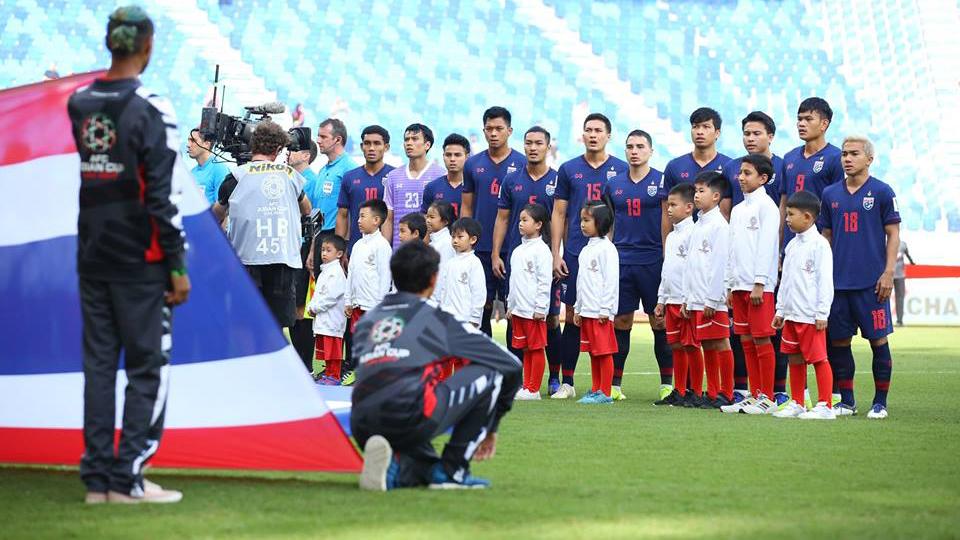 ทีมชาติจีน ทีมชาติอุรกวัย ทีมชาติโคลอมเบีย ทีมชาติไทย