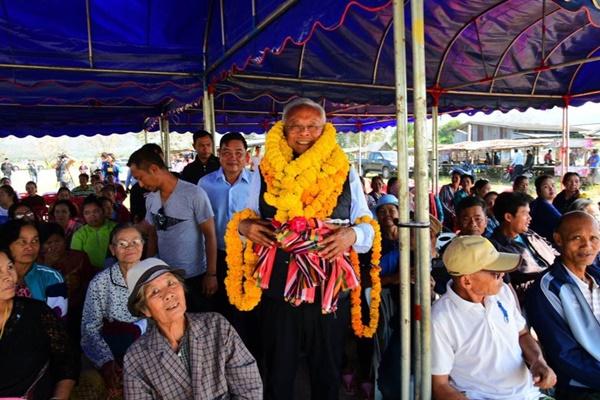 คารวะแผ่นดิน พรรครวมพลังประชาชาติไทย รปช. สุเทพ เทือกสุบรรณ
