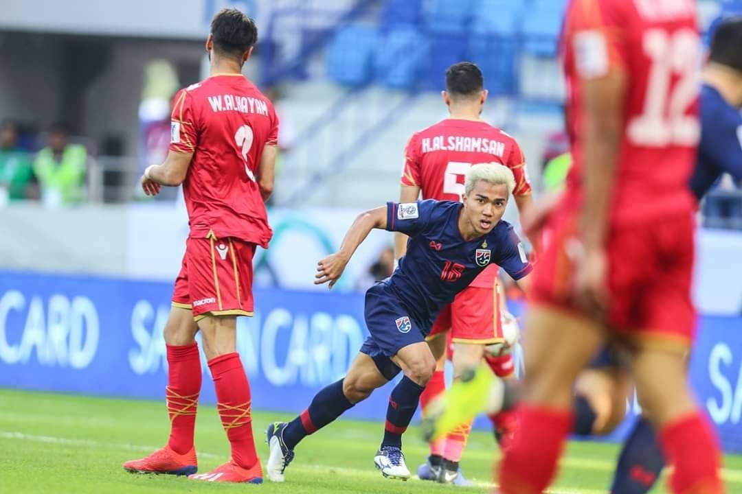 ชนาธิป สรงกระสินธ์ ทีมชาติบาห์เรน ทีมชาติไทย เอเชียนคัพ 2019