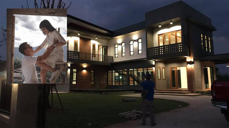 ตกแต่งภายใน บ้านเดี่ยวสองชั้น บ้านแนว ลอฟท์ บ้านแนวโมเดิร์น สร้างบ้าน เรือนหอ