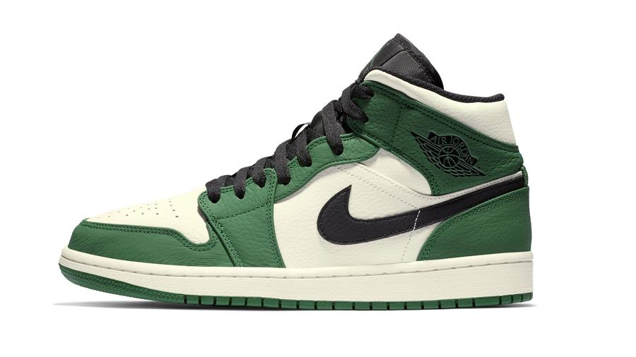 Air Jordan Air Jordan 1 Air-Sole fashion Michael Jordan MJ nike Pine Green Sneaker รองเท้า สนีกเกอร์ แฟชั่น