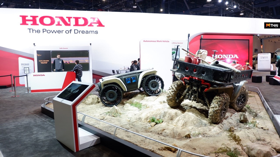 CES 2019 HONDA Honda Autonomous Work Vehicle Honda Developer Studio Honda Xcelerator ข่าวรถยนต์ ฮอนด้า ฮอนด้า อินโนเวชันส์