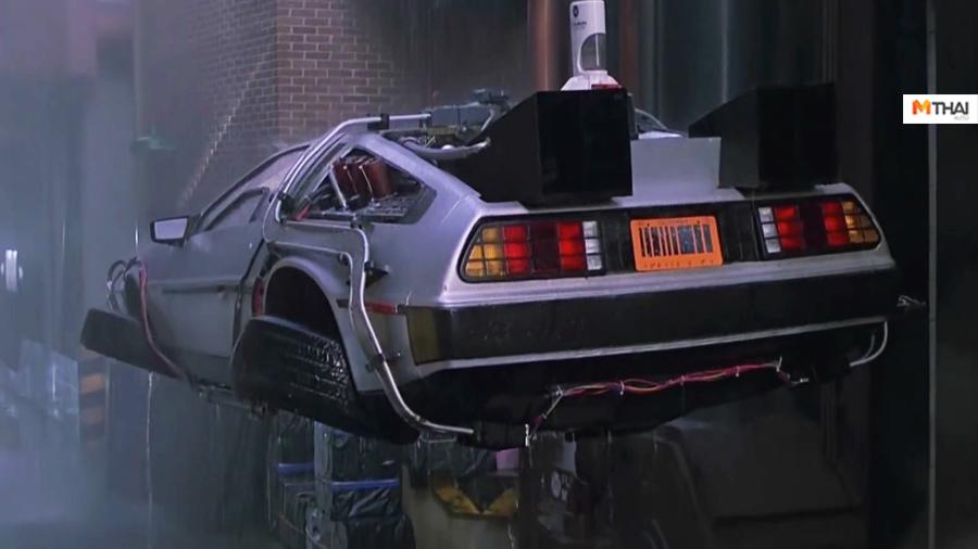 Back to the future DeLorean Elon Musk SpaceX Tesla Tesla Roadster