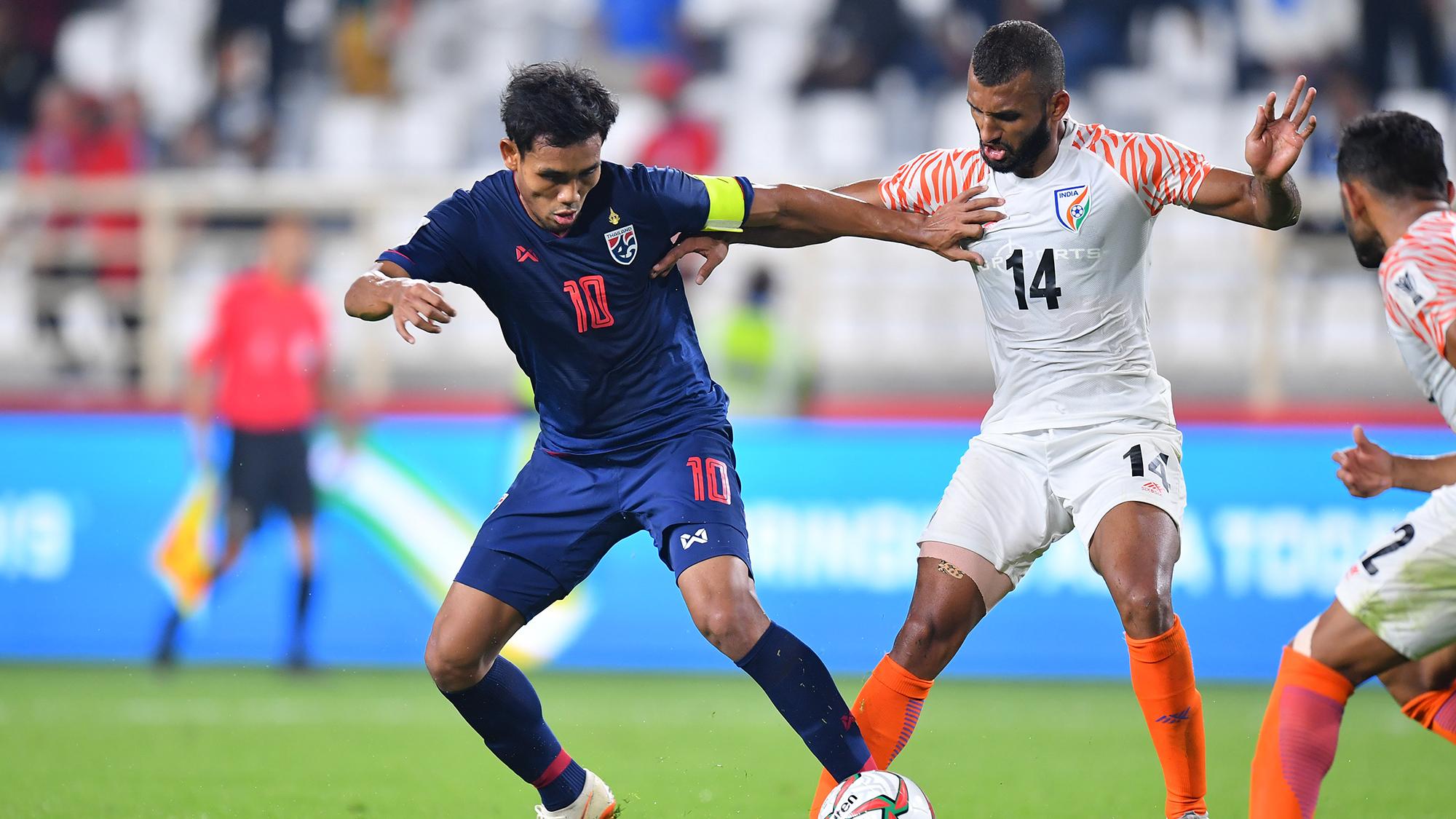 ทีมชาติอินเดีย ทีมชาติไทย เอเชียนคัพ 2019