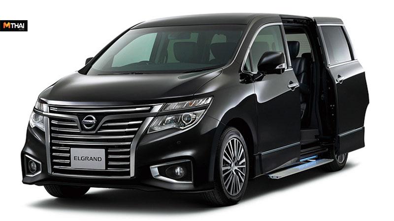 nissan Nissan Elgrand Nissan Elgrand 2019 ข่าวรถยนต์ นิสสัน รถตู้ รถใหม่ เปิดรถใหม่