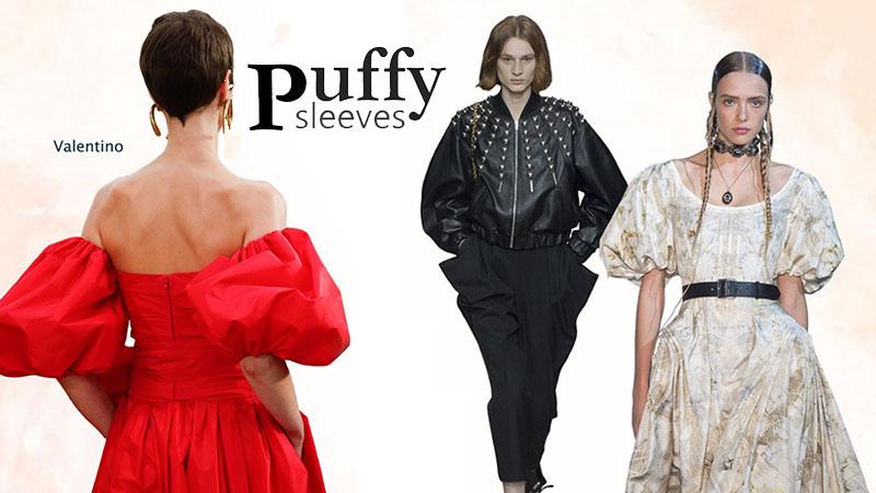 Puffy Sleeves เทรนด์ซัมเมอร์ เทรนด์แฟชั่น เสื้อแขนตุ๊กตา เสื้อแขนพอง แฟชั่นชุดพอง