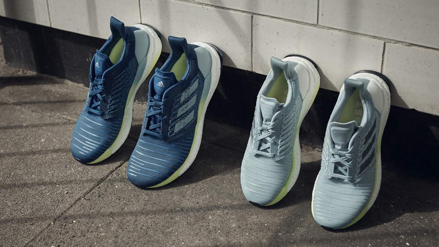 adidas adidas Running Boost Energy Rail Hi-Res Yellow running Sneaker SolarBOOST รองเท้าวิ่ง สนีกเกอร์