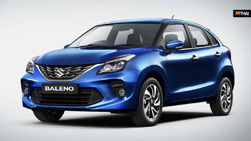 MinorChange suzuki Suzuki Baleno ข่าวรถยนต์ ซูซูกิ ซูซูกิ บาเลโน่ บาเลโน่ รถใหม่ รุ่นปรับโฉม