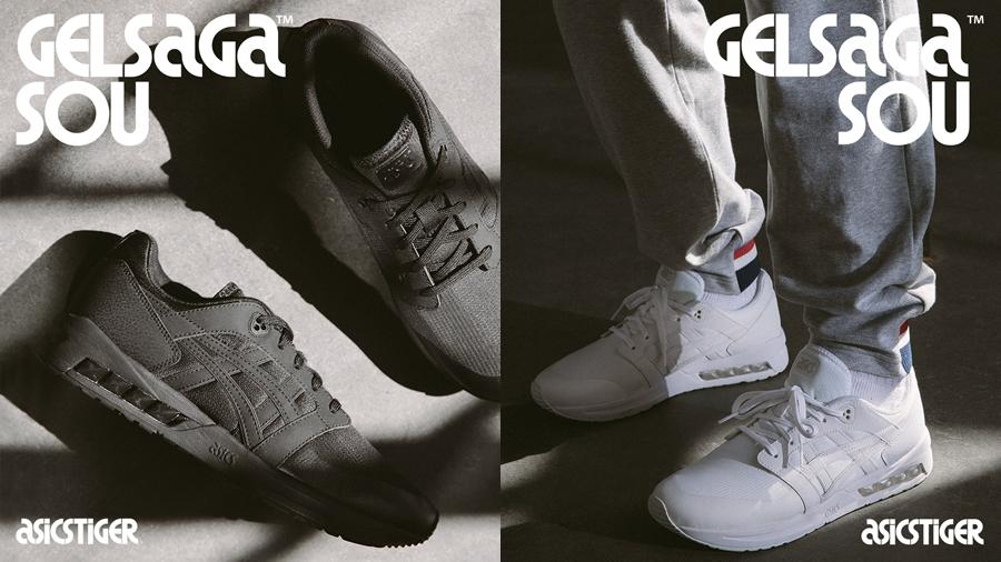 ASICS ASICSTIGER fashion GEL GELSAGA GELSAGA SOU Sneaker SOU รองเท้า สนีกเกอร์ แฟชั่น