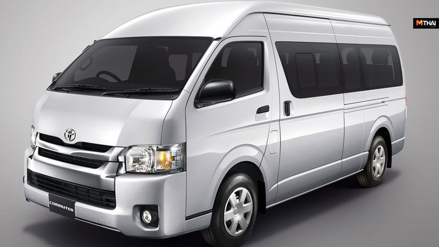 Toyota Toyota Commuter Toyota Hiace ข่าวรถยนต์ รถตู้ รถรุ่นใหม่ โตโยต้า