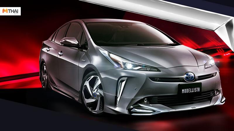 Modellista Tokyo Auto Salon 2019 Toyota Prius ข่าวรถยนต์ รถแต่ง รถแต่งญี่ปุ่น โตโยต้า โตโยต้า พรีอุส
