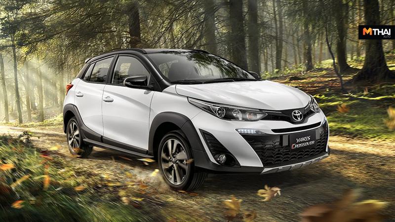 Toyota toyota yaris Toyota Yaris 2019 Yaris ข่าวรถยนต์ ครอสโอเวอร์ รถครอสโอเวอร์ รถยนต์ รถใหม่ โตโยต้า โตโยต้า ยาริส