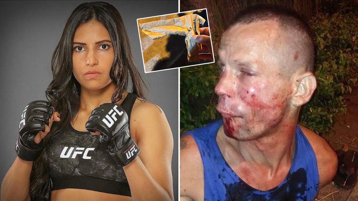 mma UFC โพลีเอน่า เวียน่า
