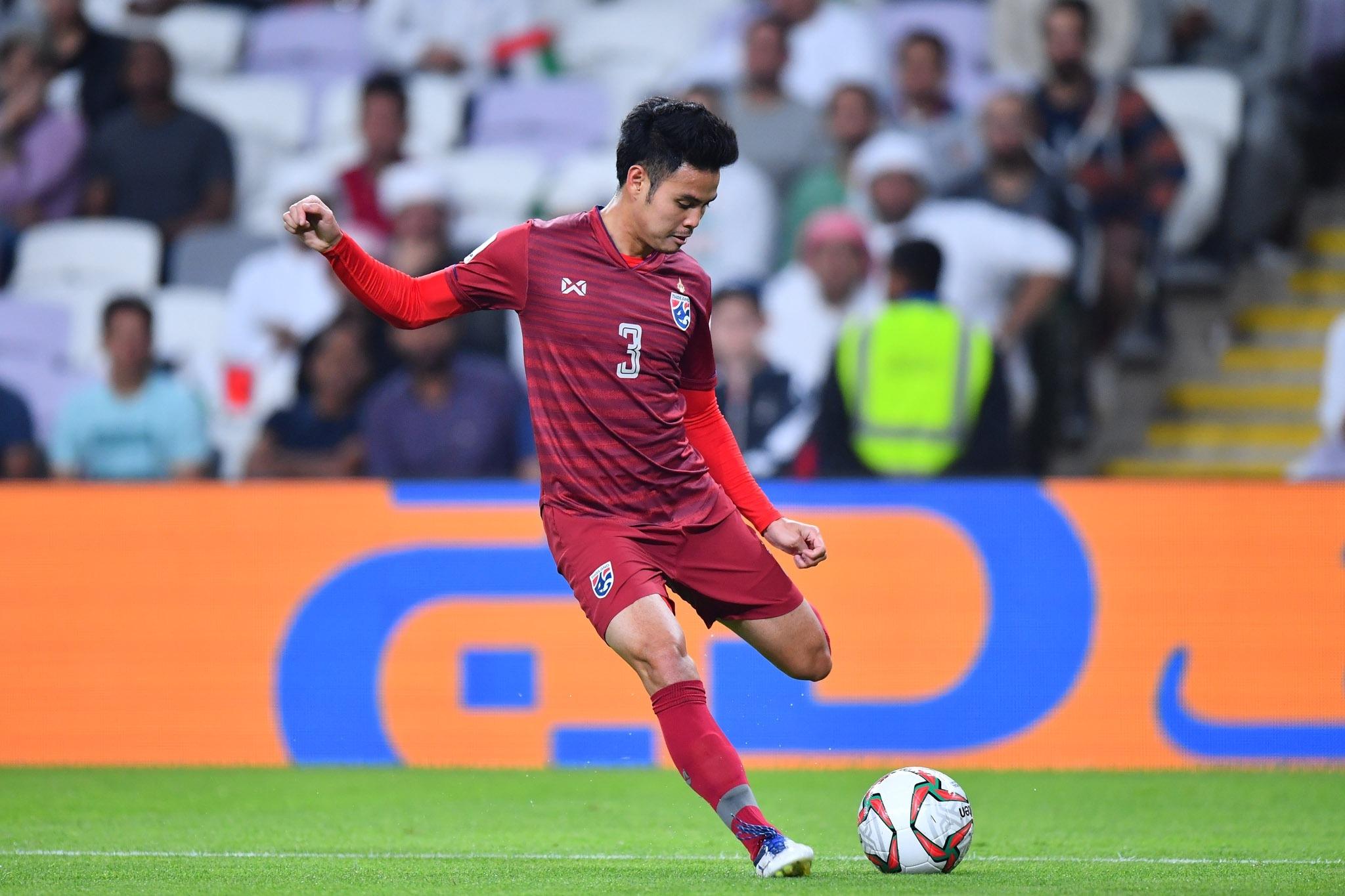 ทีมชาติไทย ธีราทร บุญมาทัน เอเชียรคัพ 2019