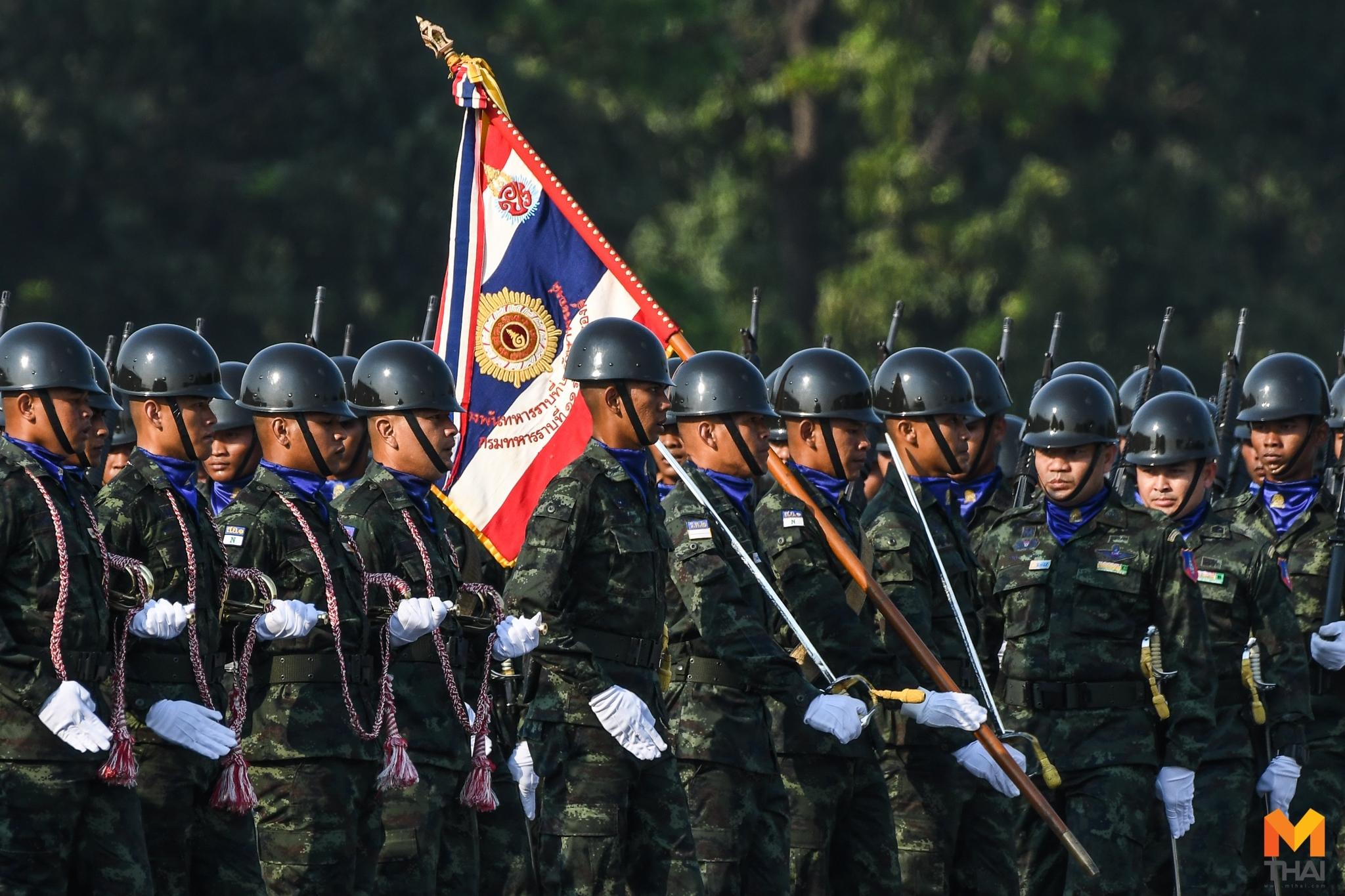 กองทัพไทย ทหาร ธงชัยเฉลิมพล ธงไชยเฉลิม