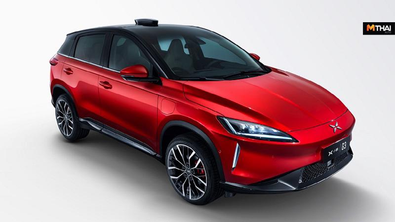 Xiaopeng Motors Xpeng G3 Xpeng Motors ข่าวรถยนต์ รถจีน รถยนต์ไฟฟ้า รถเอสยูวีไฟฟ้า