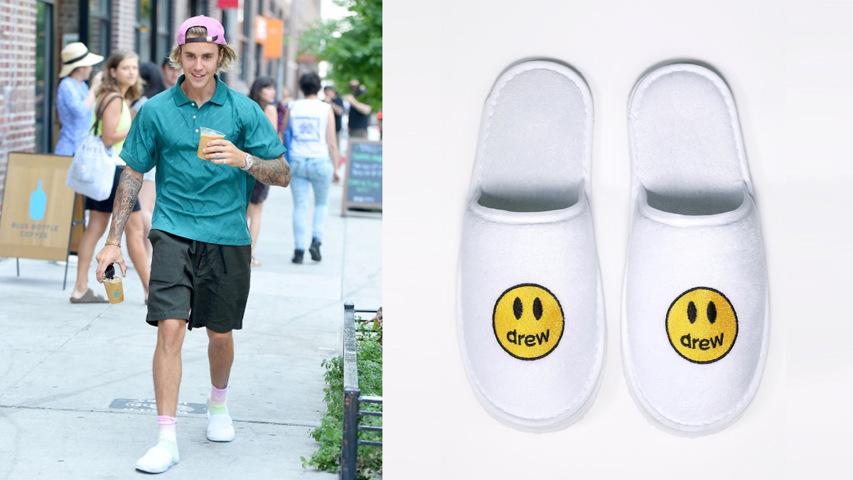 Cheap Hotel Slippers Justin Bieber slipprs Superstar จัสติน บีเบอร์