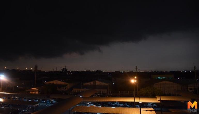 กรมอุตุนิยมวิทยา ฝนตก พยากรณ์อากาศ พายุปาบึก