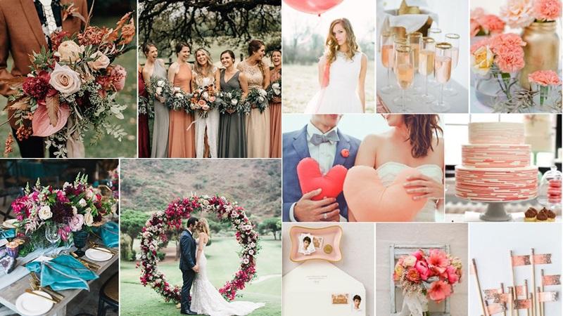 งานแต่งงาน จัดงานแต่งงาน ธีมงานแต่ง เทรนด์สีงานแต่งงาน ปี 2019 โทนสีมาแรง