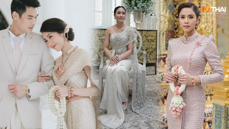 งานแต่งงาน ชุดเจ้าสาว ชุดแต่งงาน ชุดแต่งงาน ดารา ชุดแต่งงานแบบไทย ชุดแต่งงานไทย ชุดไทย ร้านชุดแต่งงาน