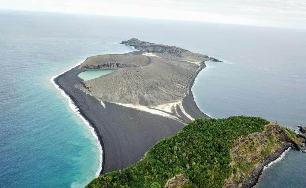 ข่าวสดวันนี้ นาซา เกาะ Hunga Tonga เกาะใหม่
