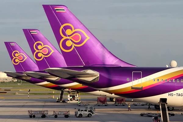 การบินไทย ปากียิงอินเดีย