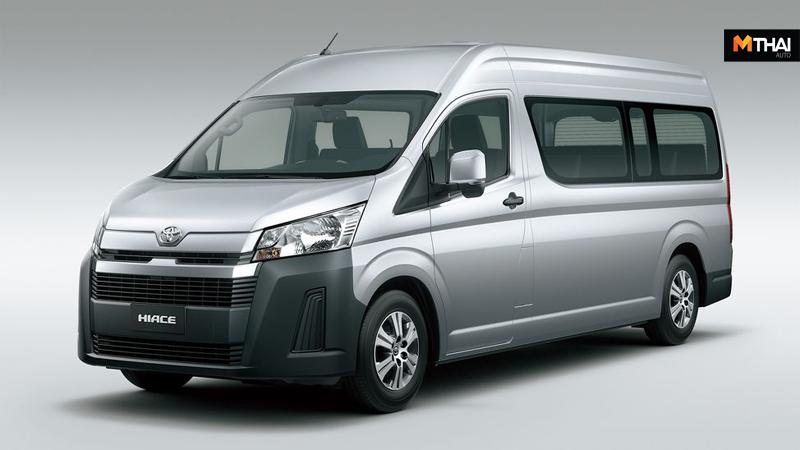 Toyota Toyota Hiace Toyota Hiace 2019 Toyota Kirloskar Motor ข่าวรถยนต์ รถตู้ โตโยต้า