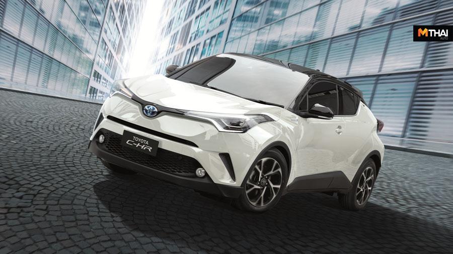 c-hr Toyota Toyota C-HR ข่าวรถยนต์ ซีเอชอาร์ บริษัท โตโยต้า มอเตอร์ ประเทศไทย จำกัด รถซับคอมแพคเอสยูวี รุ่นปรับโฉม โตโยต้า โตโยต้า ซีเอชอาร์