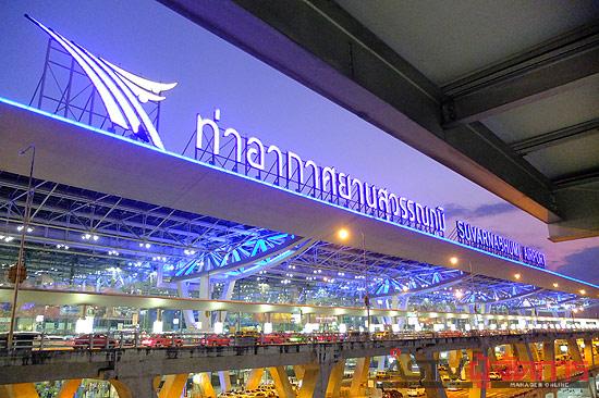 กระโดดตึก ชาวรัสเซีย ท่าอากาศยานสุวรรณภูมิ สนามบิน