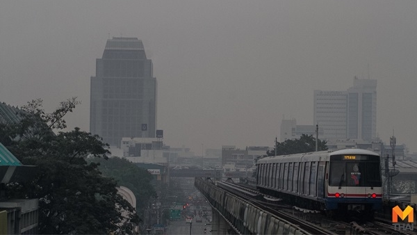 PM2.5 กทม. ข่าวสดวันนี้ ฝุ่นละออง