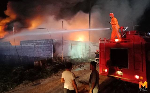 พัทยา โรงงานเก็บสารเคมี ไฟไหม้