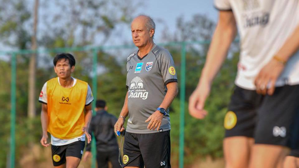 ทีมชาติไทย ทีมชาติไทย U23 ศิริศักดิ์ ยอดญาติไทย อเล็กซานเดร กามา โชคทวี พรหมรัตน์