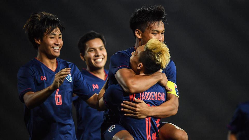 ชิงแชมป์อาเซียน 2019 รุ่นอายุไม่เกิน 22 ปี ติมอร์ เลสเต้ ทีมชาติไทย ทีมชาติไทย รุ่นอายุไม่เกิน 16 ปี ผลบอล ผลบอล ทีมชาติไทย ศฤงคาร พรมสุภะ
