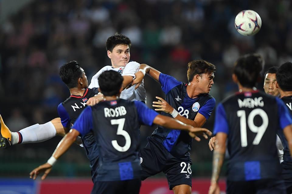 ชิงแชมป์อาเซียน 2019 ทีมชาติกัมพูชา U22 ทีมชาติไทย U22