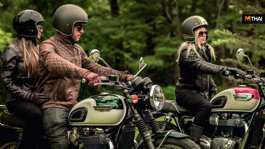 Triumph Motorcycles ขี่มอเตอร์ไซค์ มอเตอร์ไซค์ ไทรอัมพ์ ไทรอัมพ์ มอเตอร์ไซเคิลส์ ไบค์เกอร์