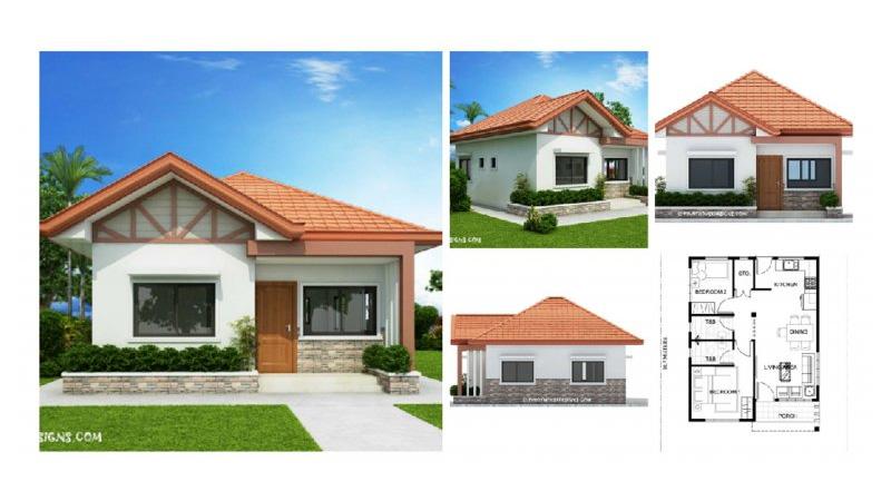 บ้านเดี่ยว แบบบ้าน แบบบ้านชั้นเดียว แบบบ้านเดี่ยวชั้นเดียว แปลนบ้าน
