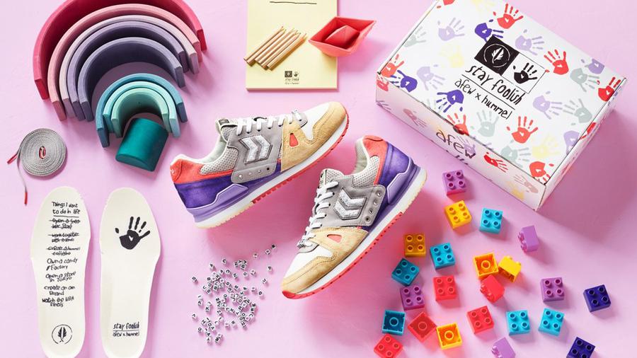 Afew fashion Hummel Marathona Sneaker Stay Foolish รองเท้า สนีกเกอร์ แฟชั่น