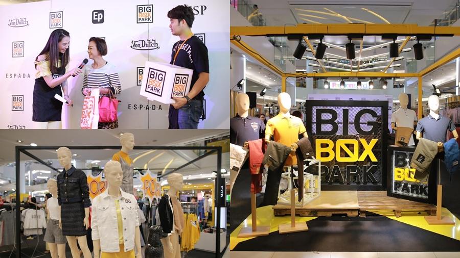 BIG BOX PARK EP ESP Espada F-Fashion LTD OUTLET POP-UP STORE Rock Jean Von Dutch ช้อปปิ้ง