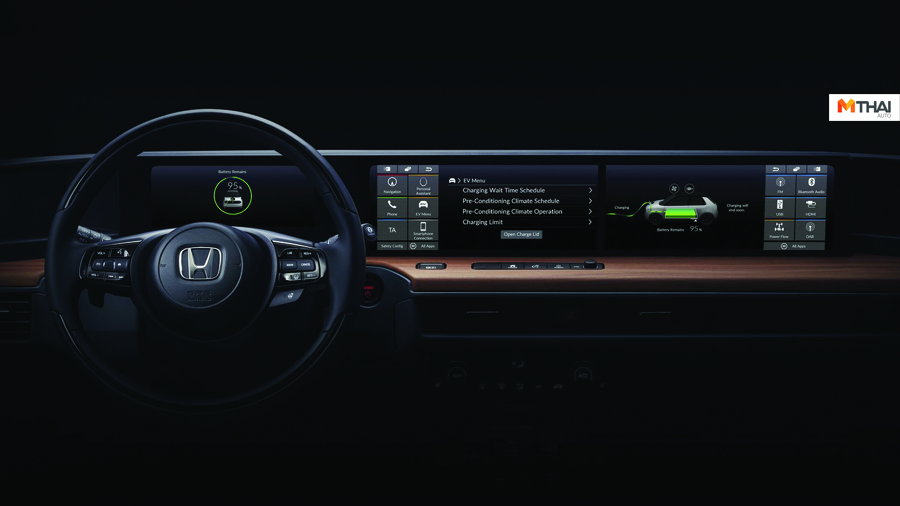 Dashboard Design Geneva Motor Show 2019 HONDA Urban Concept Urban EV รถยนต์ไฟฟ้า